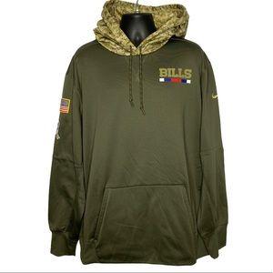 Nike Buffalo Bills Salute To Service Camo Hoodie